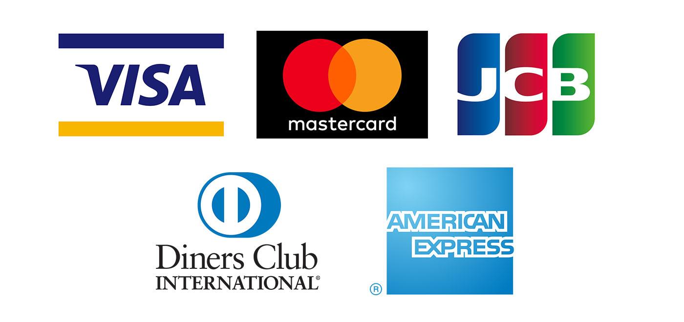 利用できるクレジットカード会社一覧画像