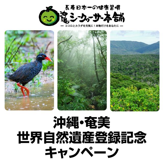 ユネスコ 世界自然遺産登録記念キャンペーン