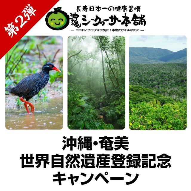 ユネスコ 世界自然遺産登録記念キャンペーン第2弾!